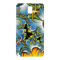 Fractal Background With Abstract Streak Shape Samsung Galaxy Note 3 N9005 Hardshell Back Case