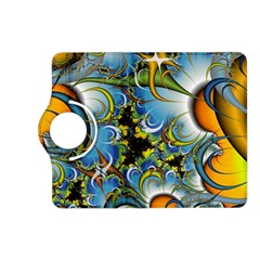 Fractal Background With Abstract Streak Shape Kindle Fire HD (2013) Flip 360 Case