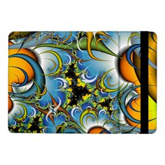 Fractal Background With Abstract Streak Shape Samsung Galaxy Tab Pro 10.1  Flip Case