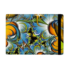 Fractal Background With Abstract Streak Shape Ipad Mini 2 Flip Cases