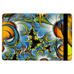 Fractal Background With Abstract Streak Shape iPad Air Flip