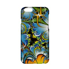 Fractal Background With Abstract Streak Shape Apple Iphone 6/6s Hardshell Case