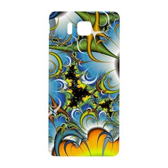 Fractal Background With Abstract Streak Shape Samsung Galaxy Alpha Hardshell Back Case
