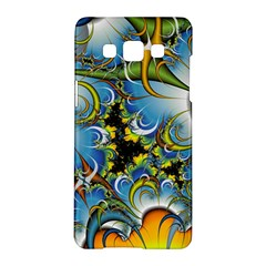 Fractal Background With Abstract Streak Shape Samsung Galaxy A5 Hardshell Case