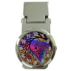 3d Fractal Mandelbulb Money Clip Watches
