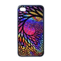 3d Fractal Mandelbulb Apple Iphone 4 Case (black)