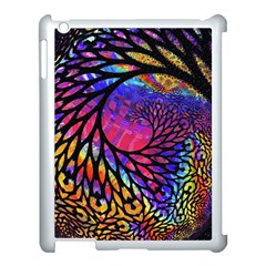 3d Fractal Mandelbulb Apple iPad 3/4 Case (White)