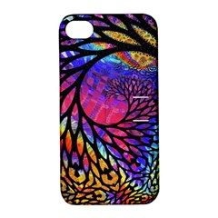 3d Fractal Mandelbulb Apple iPhone 4/4S Hardshell Case with Stand