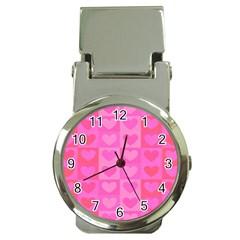 Pattern Money Clip Watches
