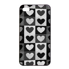 Pattern Apple iPhone 4/4s Seamless Case (Black)
