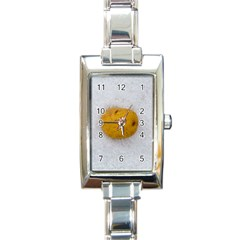Hintergrund Salzkartoffel Rectangle Italian Charm Watch