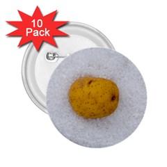Hintergrund Salzkartoffel 2 25  Buttons (10 Pack)