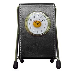 Hintergrund Salzkartoffel Pen Holder Desk Clocks