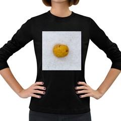 Hintergrund Salzkartoffel Women s Long Sleeve Dark T Shirts