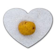 Hintergrund Salzkartoffel Heart Mousepads