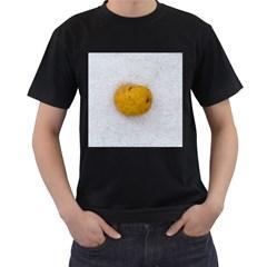 Hintergrund Salzkartoffel Men s T Shirt (black)