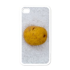 Hintergrund Salzkartoffel Apple iPhone 4 Case (White)