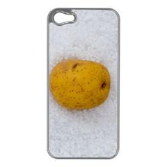 Hintergrund Salzkartoffel Apple Iphone 5 Case (silver)