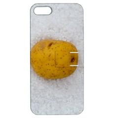 Hintergrund Salzkartoffel Apple iPhone 5 Hardshell Case with Stand