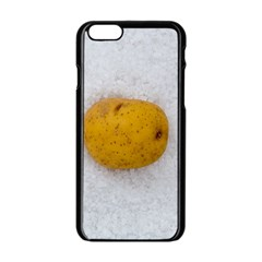 Hintergrund Salzkartoffel Apple iPhone 6/6S Black Enamel Case