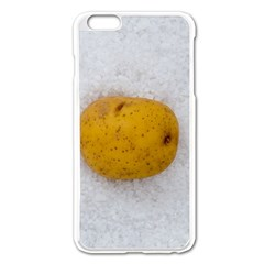 Hintergrund Salzkartoffel Apple iPhone 6 Plus/6S Plus Enamel White Case
