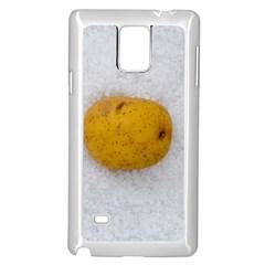Hintergrund Salzkartoffel Samsung Galaxy Note 4 Case (white)