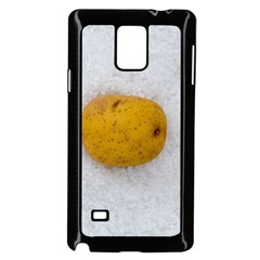 Hintergrund Salzkartoffel Samsung Galaxy Note 4 Case (black)