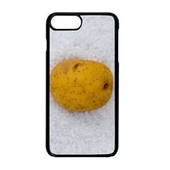 Hintergrund Salzkartoffel Apple Iphone 7 Plus Seamless Case (black)