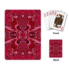 Secret Hearts Playing Card