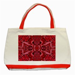 Secret Hearts Classic Tote Bag (red)