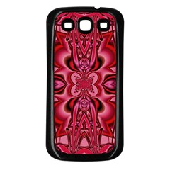 Secret Hearts Samsung Galaxy S3 Back Case (Black)