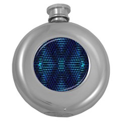 Vibrant Pattern Colorful Seamless Pattern Round Hip Flask (5 Oz)