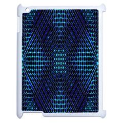 Vibrant Pattern Colorful Seamless Pattern Apple iPad 2 Case (White)