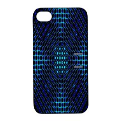 Vibrant Pattern Colorful Seamless Pattern Apple iPhone 4/4S Hardshell Case with Stand