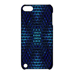 Vibrant Pattern Colorful Seamless Pattern Apple iPod Touch 5 Hardshell Case with Stand
