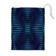 Vibrant Pattern Colorful Seamless Pattern Drawstring Pouches (extra Large)