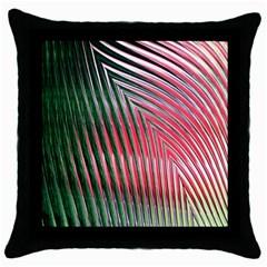 Watermelon Dream Throw Pillow Case (Black)