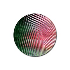 Watermelon Dream Rubber Coaster (Round)