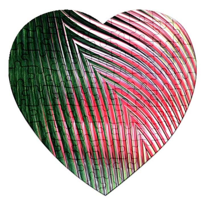 Watermelon Dream Jigsaw Puzzle (Heart)