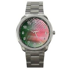 Watermelon Dream Sport Metal Watch