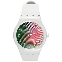 Watermelon Dream Round Plastic Sport Watch (M)