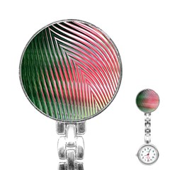 Watermelon Dream Stainless Steel Nurses Watch
