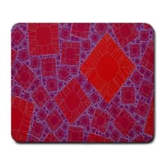Voronoi Diagram Large Mousepads