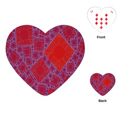 Voronoi Diagram Playing Cards (Heart)