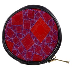 Voronoi Diagram Mini Makeup Bags