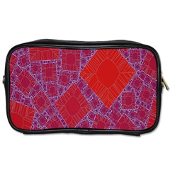 Voronoi Diagram Toiletries Bags 2-Side