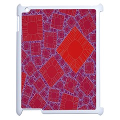 Voronoi Diagram Apple iPad 2 Case (White)
