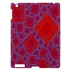 Voronoi Diagram Apple Ipad 3/4 Hardshell Case