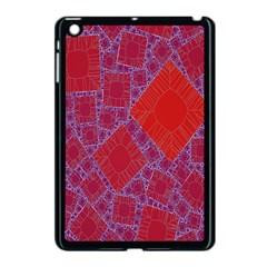 Voronoi Diagram Apple iPad Mini Case (Black)