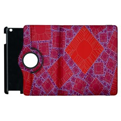 Voronoi Diagram Apple Ipad 2 Flip 360 Case
